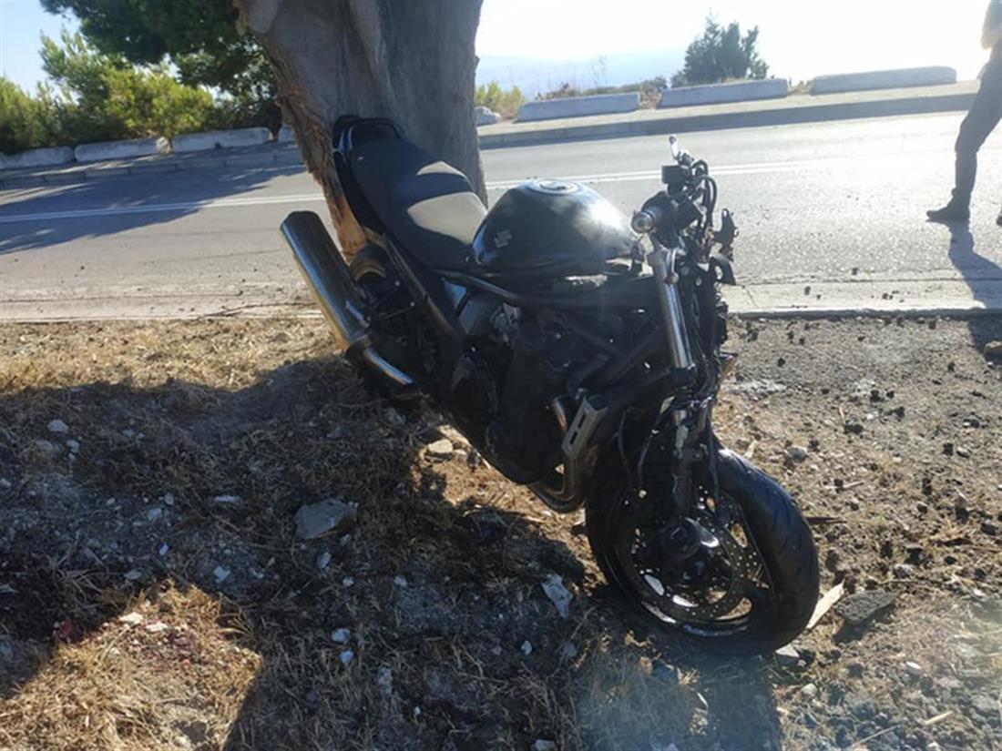 Ρόδος - τροχαίο δυστύχημα