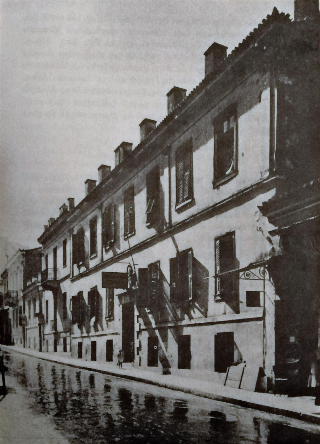 HOTEL - Η ωραία Γαλλία - Αιόλου - 1860