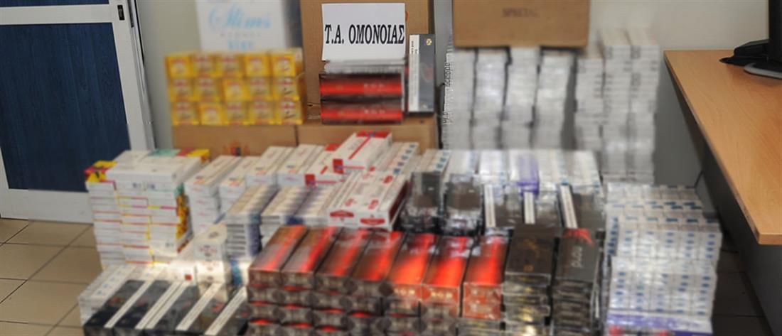 Έγιναν… τσακωτές με χιλιάδες λαθραία τσιγάρα