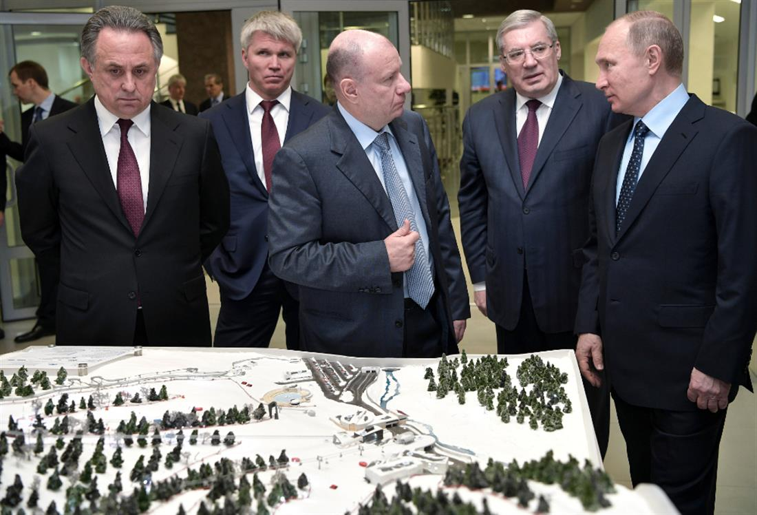 Ρωσία - Βλαντίμιρ Πούτιν - Βλαντίμιρ Ποτάνιν