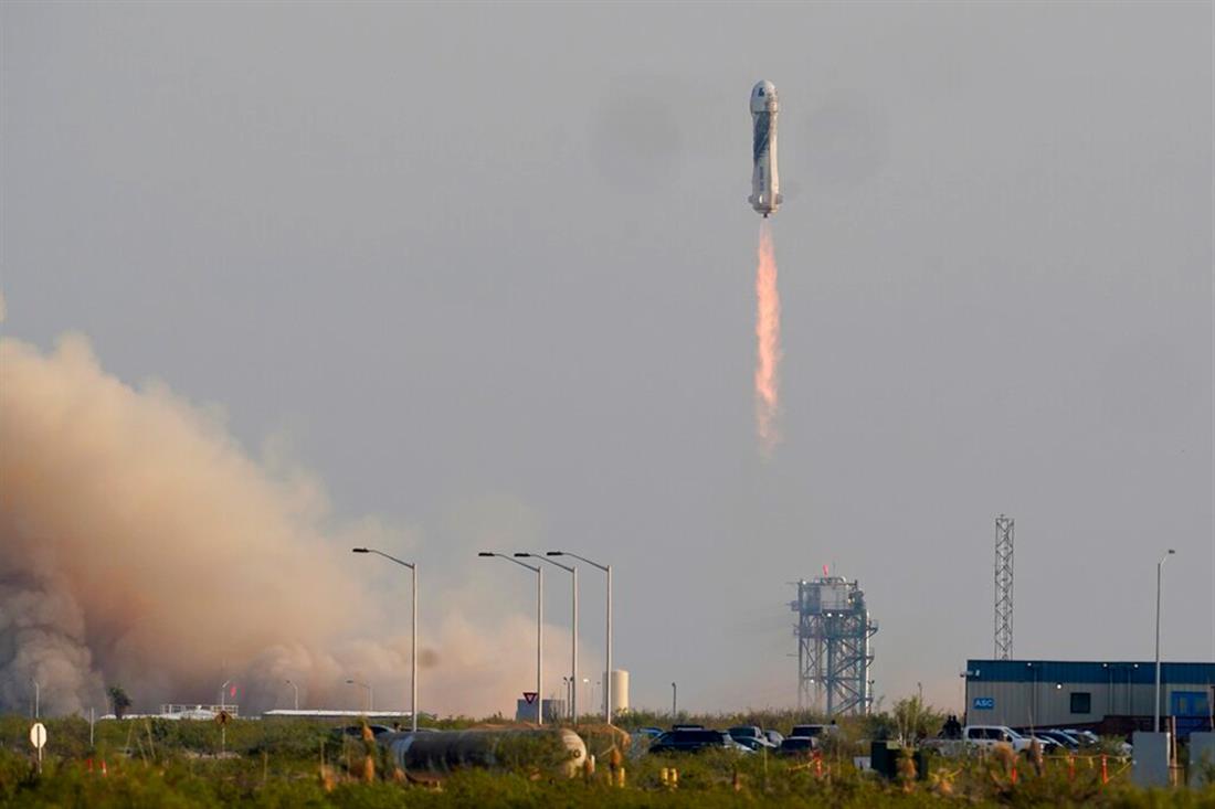 Blue Origin Bezos - Τζεφ Μπέζος - διάστημα