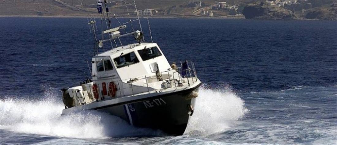 Βύθιση σκάφους στην Ίο