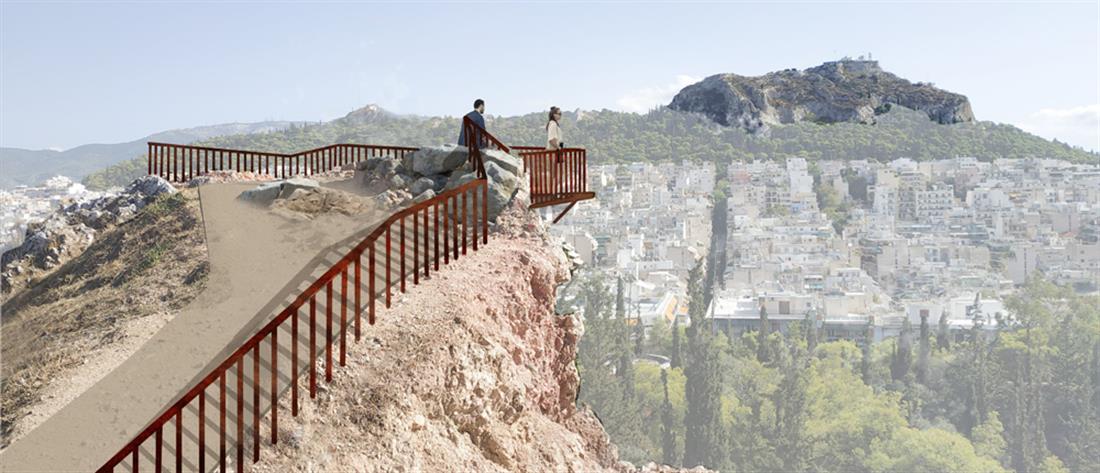 Λόφος Στρέφη: Ξαναγίνεται τόπος περιπάτου και αναψυχής (εικόνες)