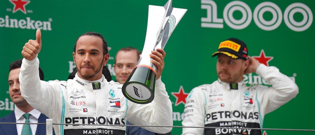 Θρίαμβος Χάμιλτον στο Grand Prix της Κίνας
