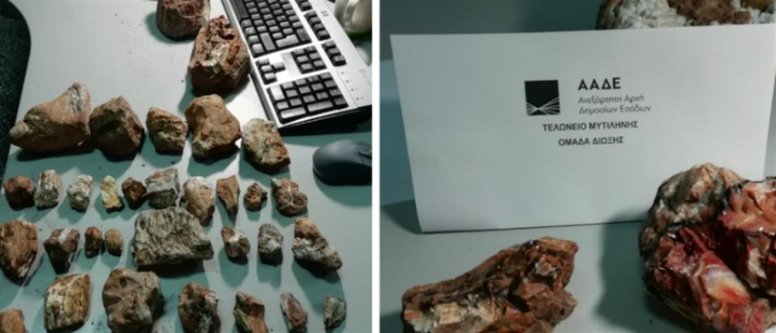 Τουρίστες συνελήφθησαν στο αεροδρόμιο με απολιθώματα στις αποσκευές τους (εικόνες)