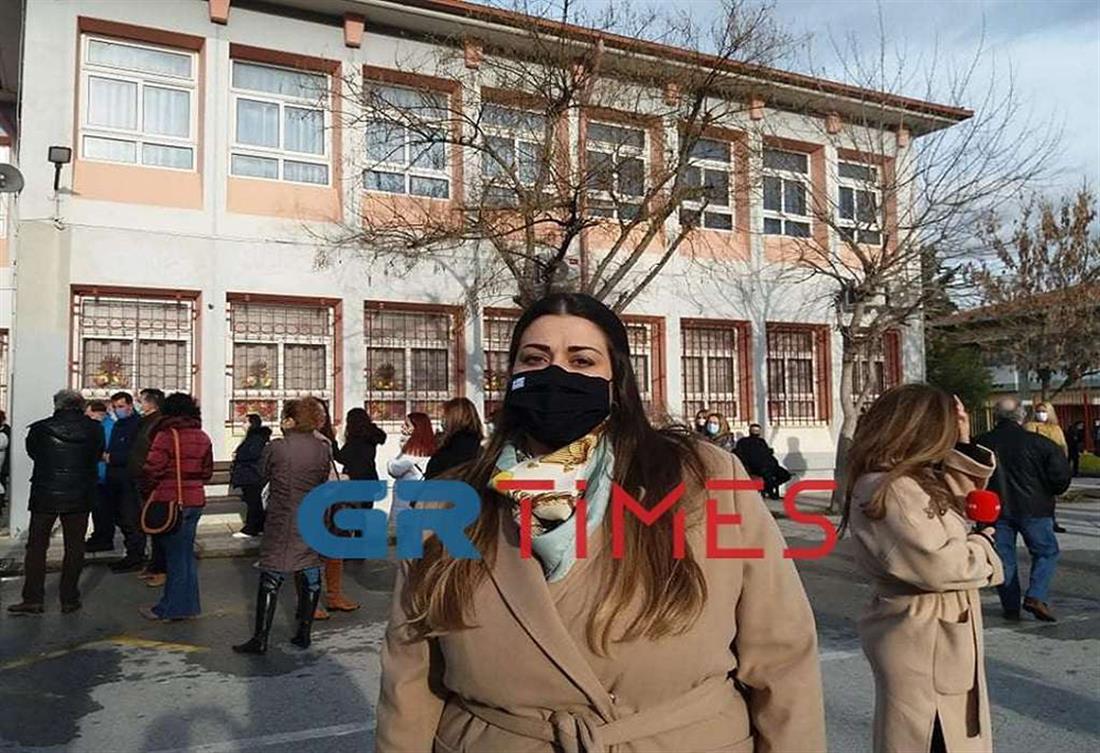 Θεσααλονίκη - Δήμος Καλαμαριάς - rapid test - εκπαιδευτικοί