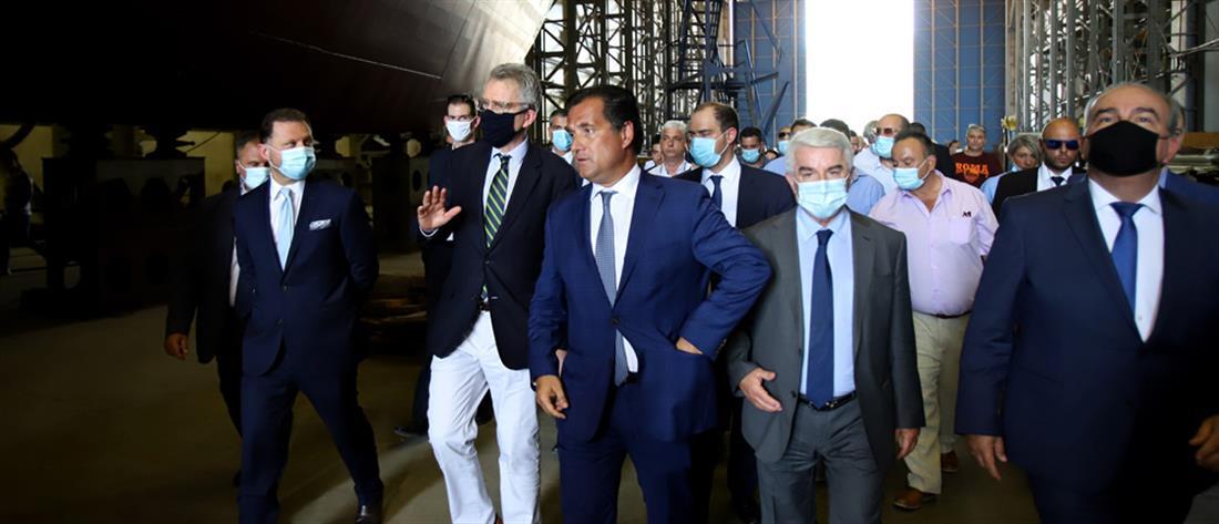 """""""Κλείνει"""" η συμφωνία για την πώληση των Ναυπηγείων Ελευσίνας"""