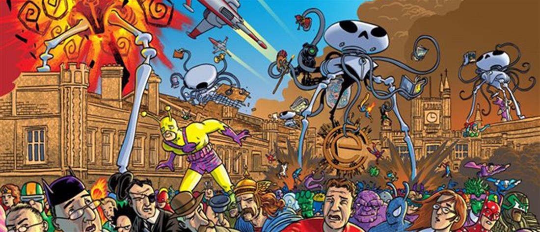 Πανευρωπαϊκή έκθεση κόμικς στη Λάρισα