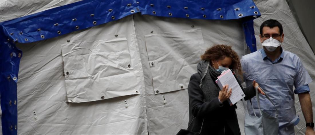 Κορονοϊός: ραγδαία αύξηση των θανάτων στη Γαλλία