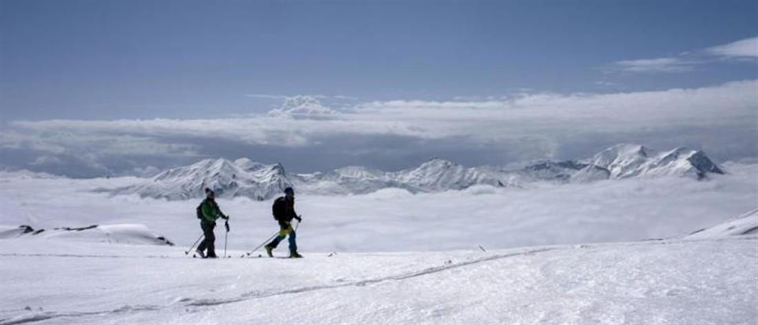 Χιονοστιβάδα στο Χιονοδρομικό Κέντρο στα Καλάβρυτα