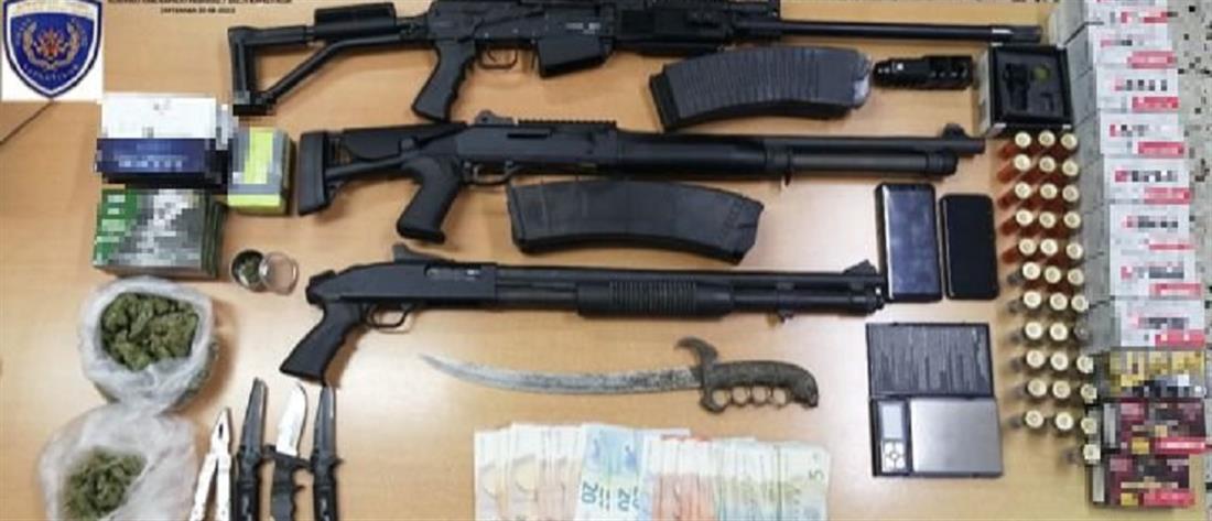Ραφήνα: σύλληψη 42χρονου με μίνι οπλοστάσιο
