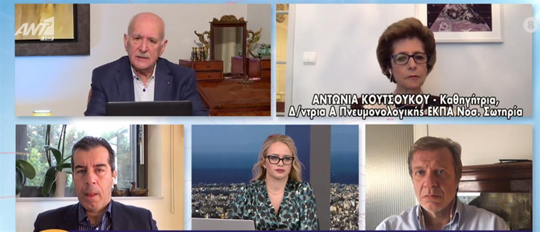 Κουτσούκου στον ΑΝΤ1: ο εφιάλτης που βιώνουν οι ασθενείς με κορονοϊό στις ΜΕΘ (βιντεο)