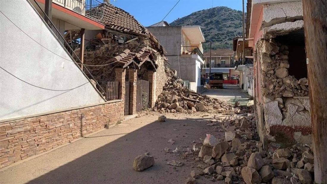 Σεισμός - Ελασσόνα - Δαμάσι