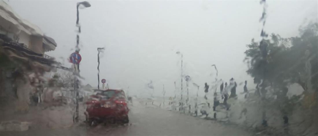 Κακοκαιρία: Κατακλυσμός στην Χαλκιδική (εικόνες)