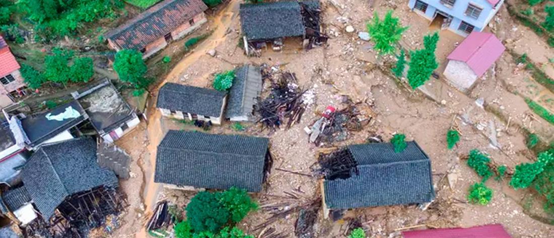 Ισχυρός σεισμός στην Κίνα (βίντεο)