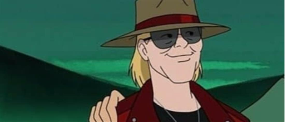 """Εμφάνιση - έκπληξη του Axl Rose σε επεισόδιο του """"Scooby Doo"""""""
