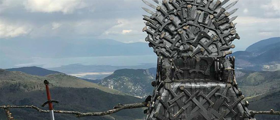 """Ο """"Σιδερένιος Θρόνος"""" του Game of Thrones σε χωριό της Φθιώτιδας (εικόνες)"""