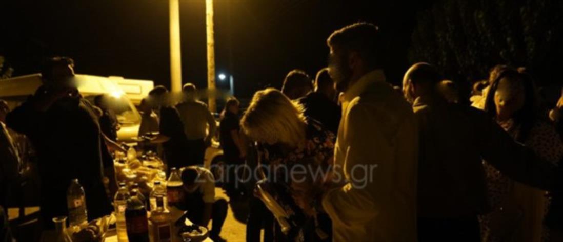 Κρήτη: Γλέντι γάμου στήθηκε στο…δρόμο (βίντεο)