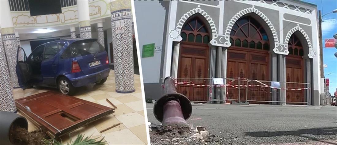 Αυτοκίνητο έπεσε σε είσοδο τεμένους στη Γαλλία (εικόνες)