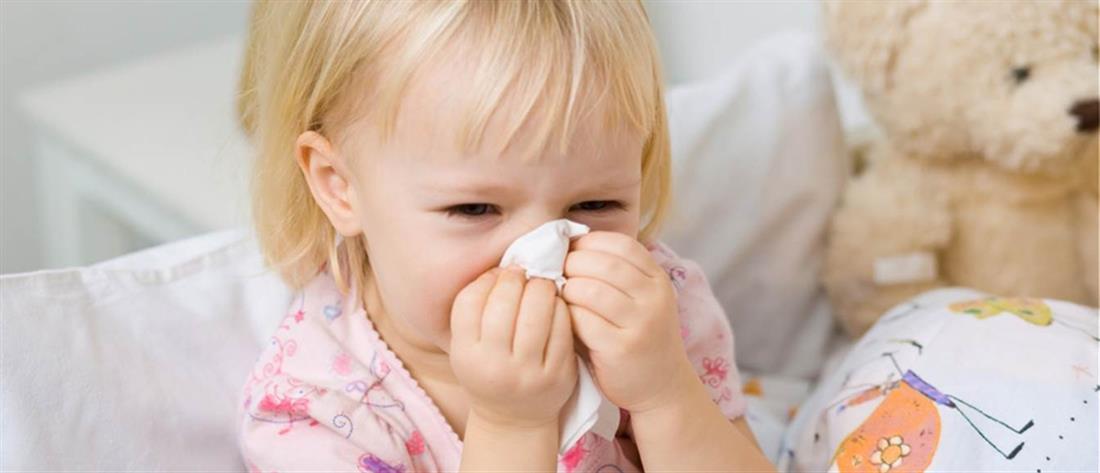 Γρίπη: Πώς μπορούμε να προφυλάξουμε και τα παιδιά - Πότε πρέπει να ανησυχούμε