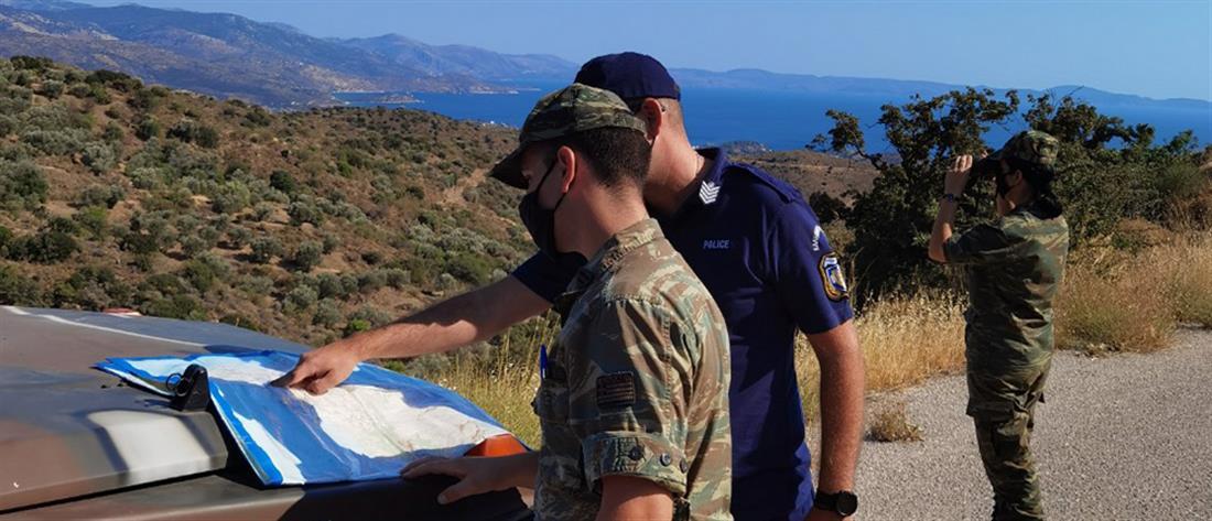 Περιπολίες - Στρατός - Αστυνομία - πυρκαγιές