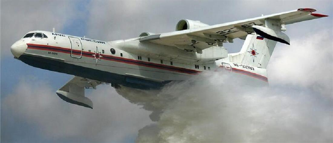 """Beriev-200: Το ρωσικό πυροσβεστικό """"θηρίο"""" επιχείρησε στην Κρήτη (εικόνες)"""