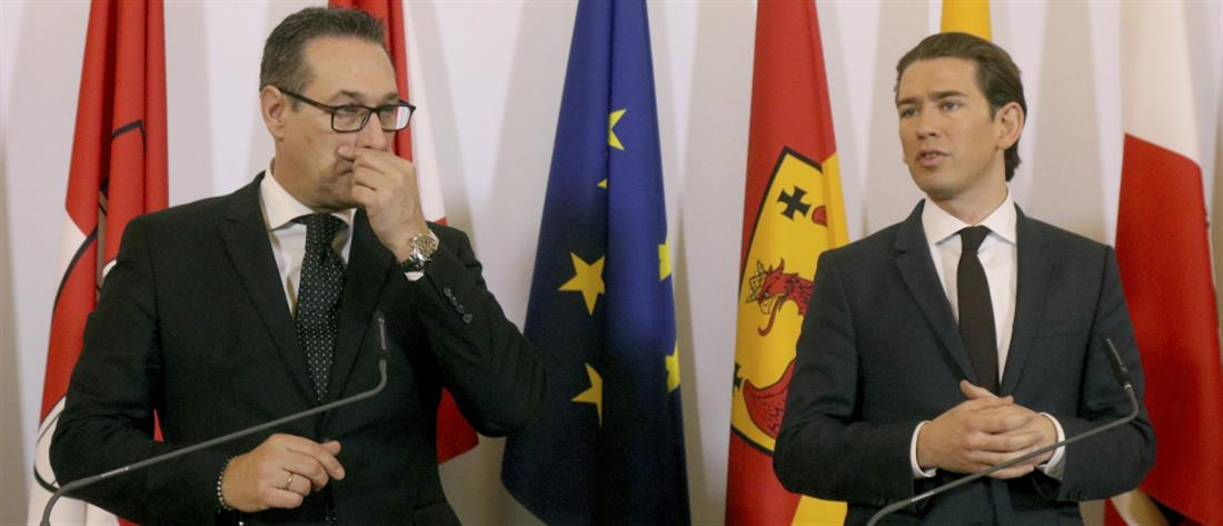 """Αυστρία: Δεν επηρέασε τον Κουρτς το """"σκάνδαλο Ίμπιζα"""""""