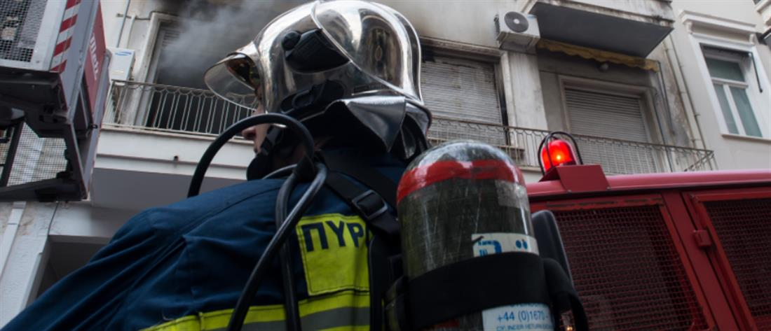 Φωτιά σε διαμέρισμα στον Βύρωνα