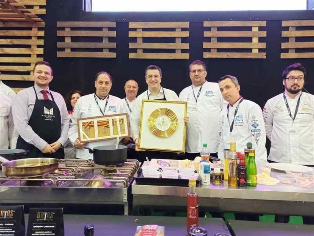 Τζιτζικώστας - μαγειρική - ποδιά - μακεδονική κουζίνα - μακεδονικά προϊόντα