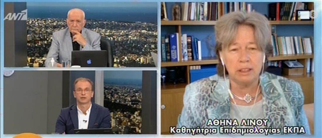 Κορονοϊός - Λινού: Να εμβολιαστούν τα παιδιά