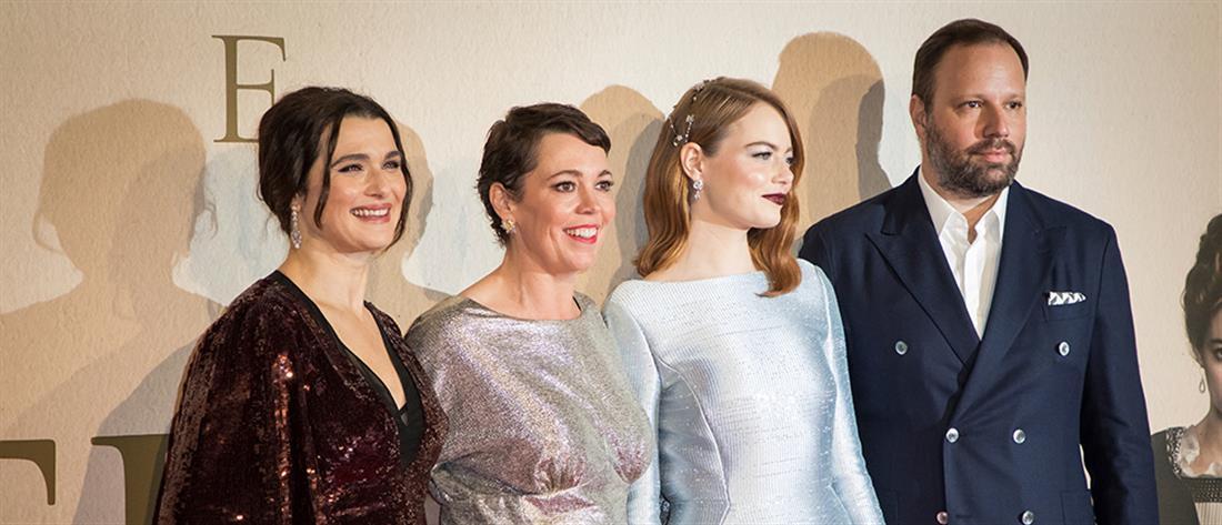 """Αντίστροφη μέτρηση για τα BAFTA: Δώδεκα  υποψηφιότητες για την """"Ευνοούμενη"""" του Λάνθιμου"""