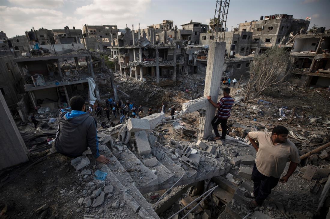 AP - Γάζα - Παλαιστίνιοι - επιδρομές Ισραηλινών