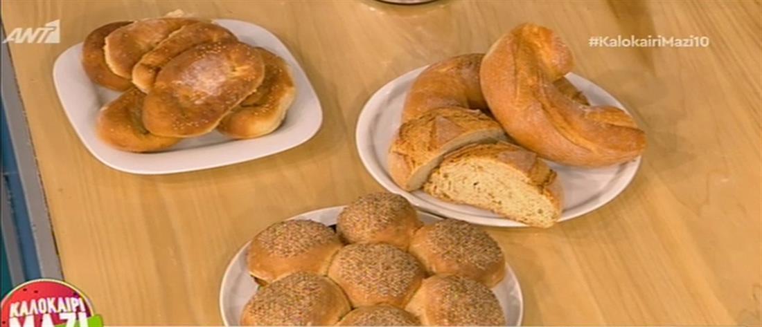 Σπιτικό ψωμί από τον Βασίλη Σπόρο