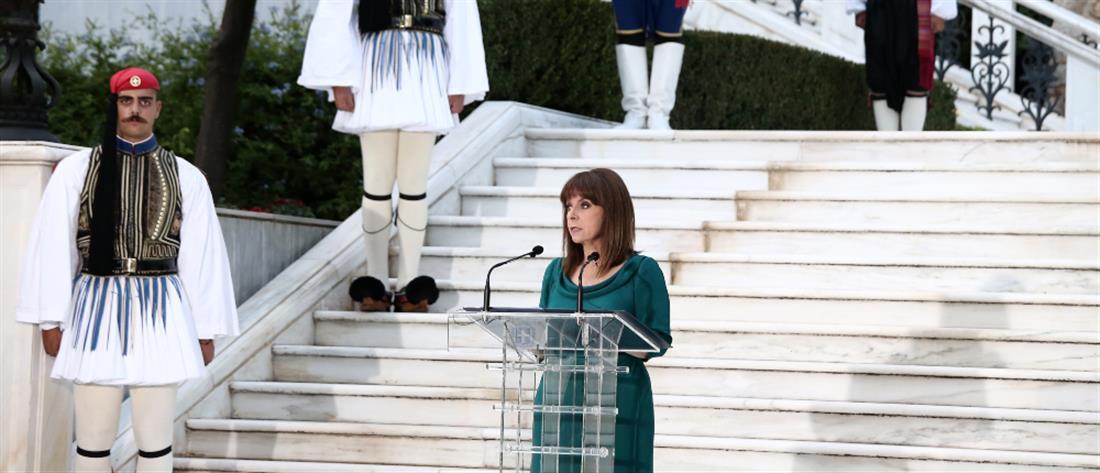 Σακελλαροπούλου: Το τέλος της πανδημίας είναι στο χέρι μας