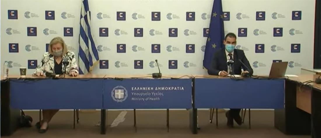 Κορονοϊός: Θεοδωρίδου - Θεμιστοκλέους για την μετάλλαξη Δέλτα και τα εμβόλια (βίντεο)