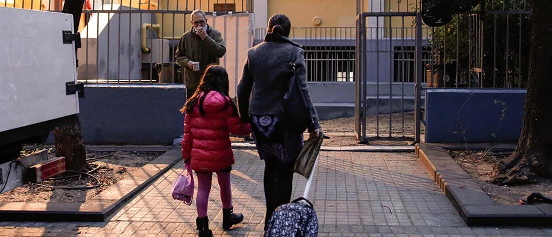 Θεσσαλονίκη - σχολεία - κορονοϊός - μαθητές
