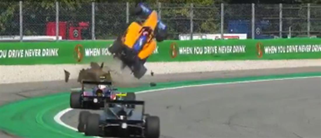 Σοκαριστικό ατύχημα στην Formula (βίντεο)