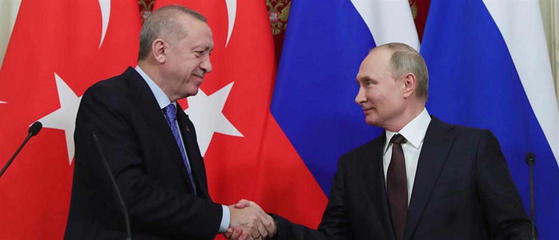 Εκεχειρία στη Συρία συμφώνησαν Πουτιν - Ερντογάν