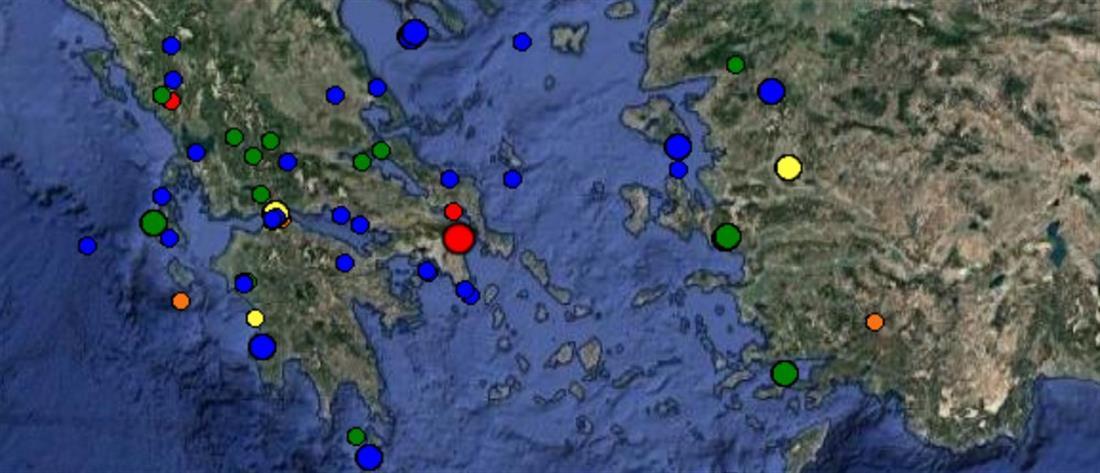 """Σεισμός """"ταρακούνησε"""" την Αττική"""
