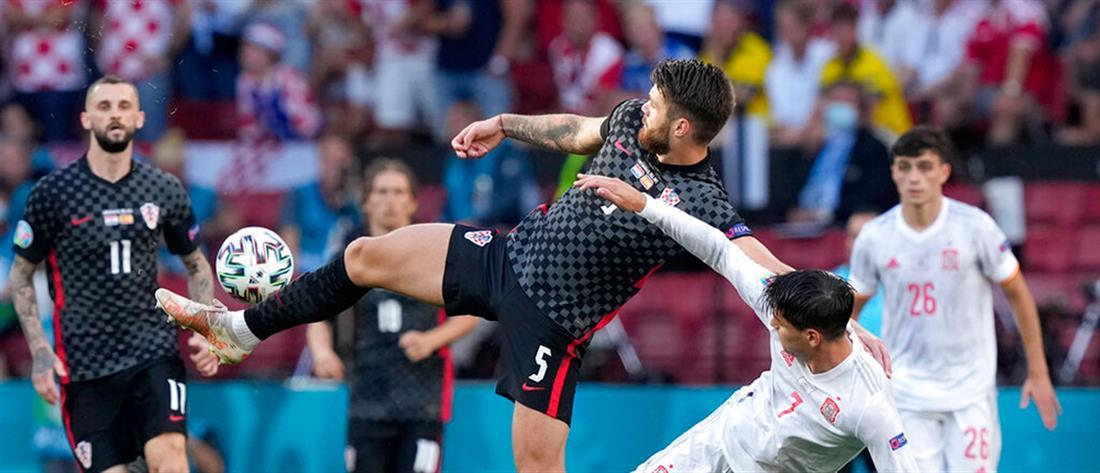 AP - Euro 2020 - Κροατία - Ισπανία