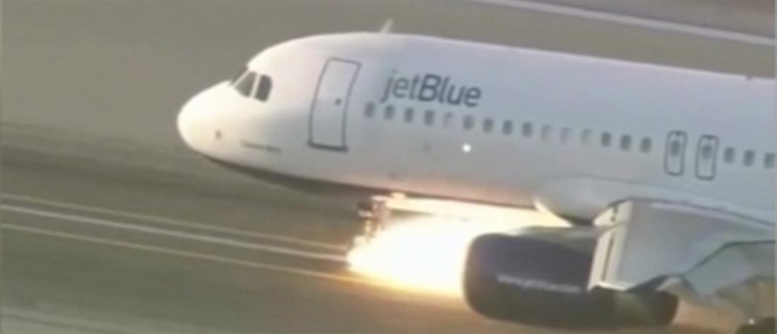 Βίντεο: προσγείωση θρίλερ για αεροσκάφος με 166 επιβαίνοντες