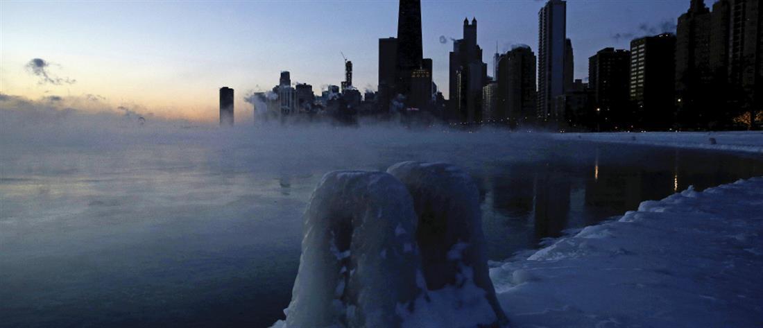 Θερμοκρασίες… Βόρειου Πόλου στις ΗΠΑ (βίντεο)