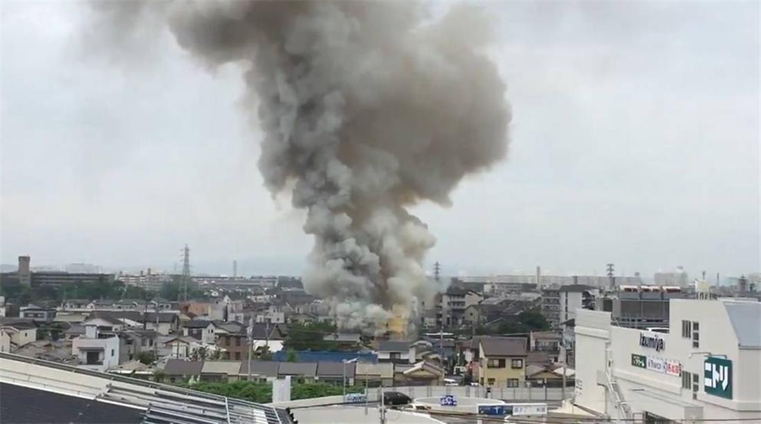 Ιαπωνία - φωτιά - στούντιο κινούμενων σχεδίων
