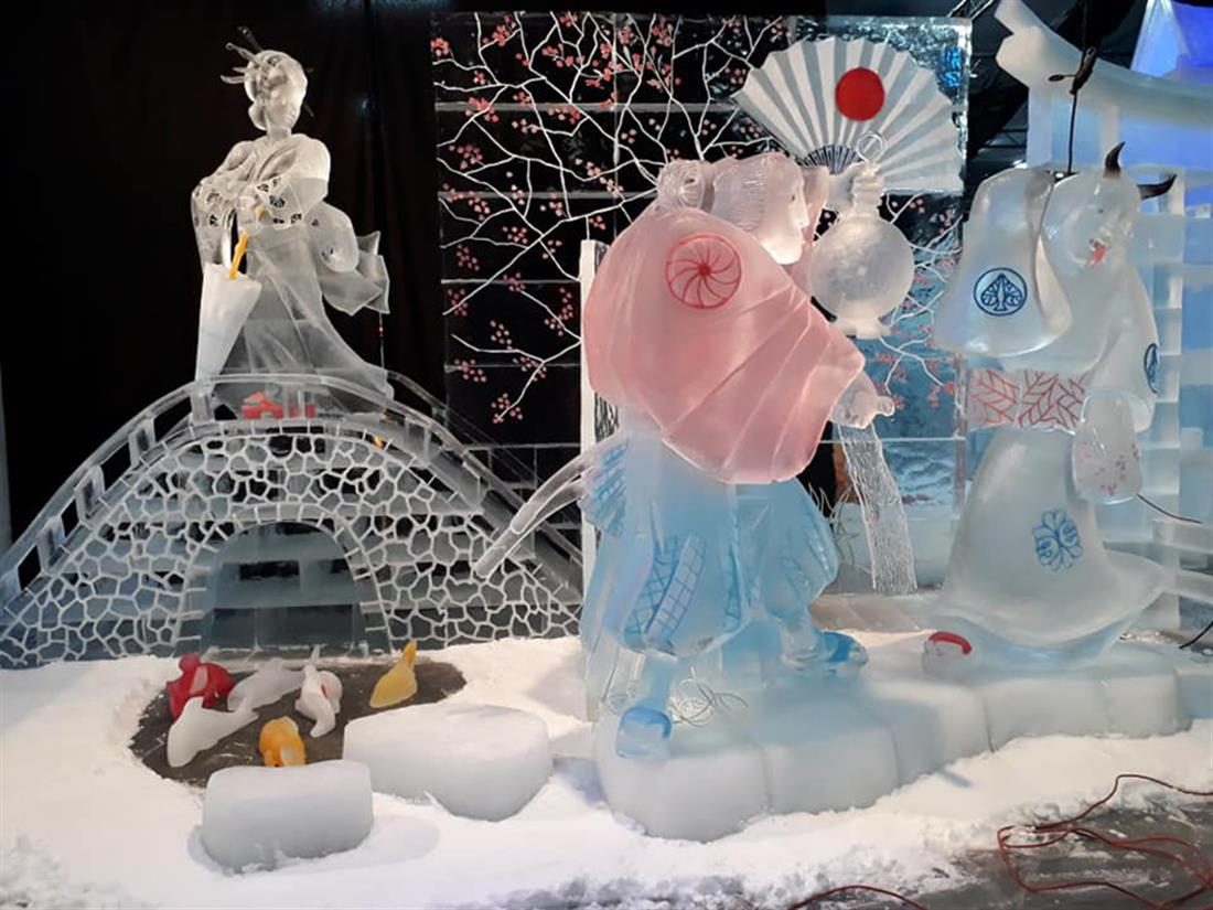 Γλυπτά - πάγος - Βουλγαρία