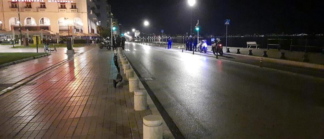 Κορονοϊός - Θεσσαλονίκη: δεκάδες πρόστιμα για κυκλοφορία τη νύχτα (φωτορεπορτάζ)