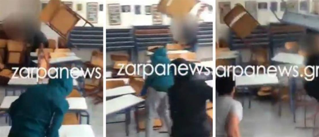 Μαθητές βανδάλισαν σχολική αίθουσα και ...περηφανεύονται στο διαδίκτυο (βίντεο)