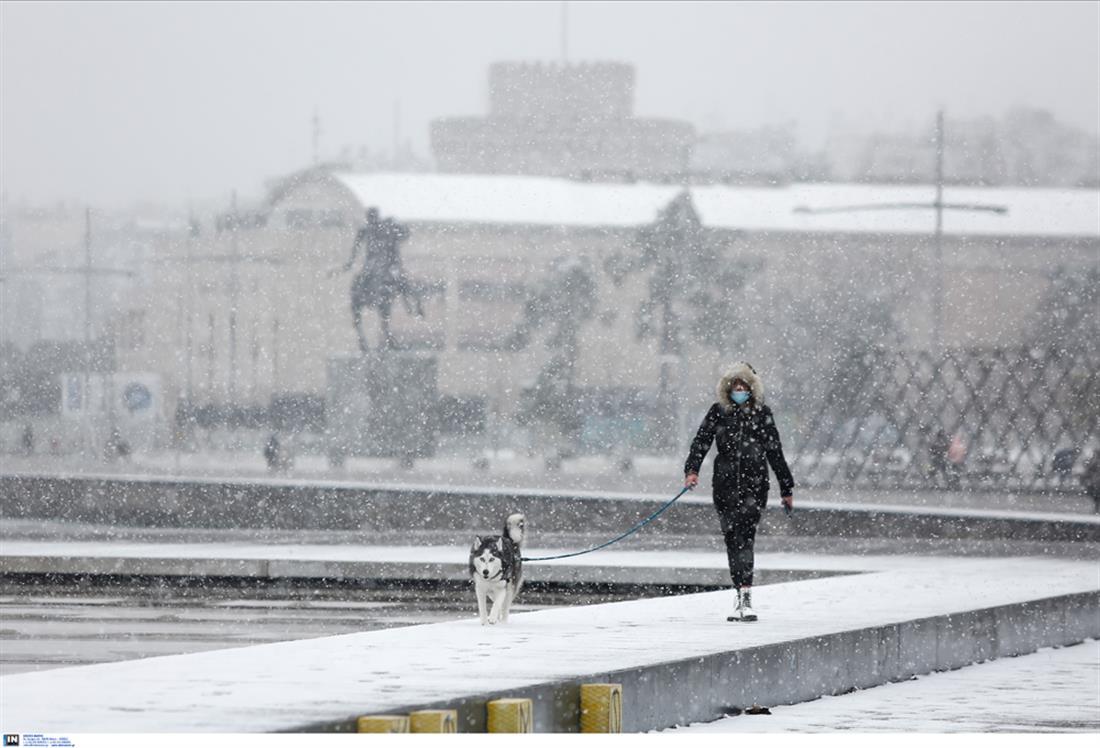 χιόνια - χιονόπτωση - Θεσσαλονίκη