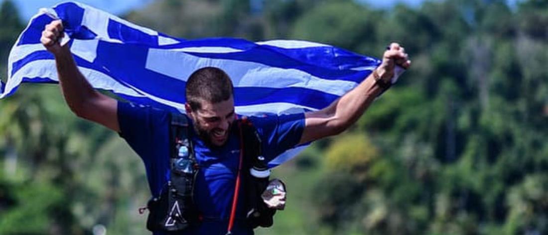 Ο Μάριος Γιαννάκου τερμάτισε στον υπερμαραθώνιο της ζούγκλας