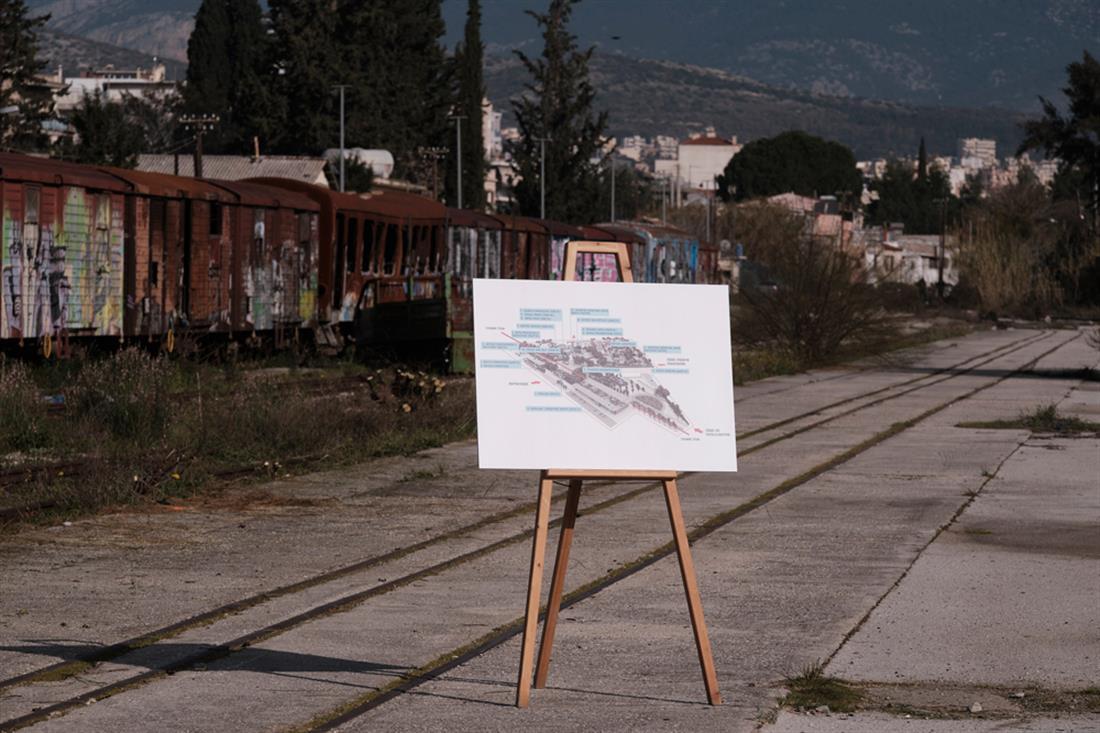 Μητσοτάκης - Αγ. Ανάργυροι - υπογραφή συμφωνίας - ΟΣΕ - gallery