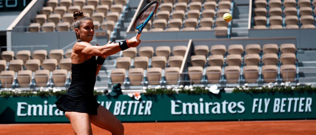 Roland Garros - Σάκκαρη: Πρόκριση στα ημιτελικά, με εκπληκτική εμφάνιση